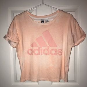 Adidas crop top t-shirt